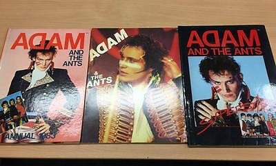 Adam and the Ants/3 Vintage Books/1983 Annual, Vermorel, Superstar (John Tobler)