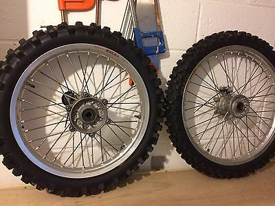 """Yamaha yz 250  Excel Wheels 21"""" Front 19"""" Rear 01-17"""
