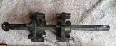 1995/96 Yamaha Enticer II 410 Sled, front drive axle with sprockets