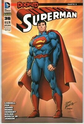 Superman # 36 Variant Incentive - Edizioni Rw Lion