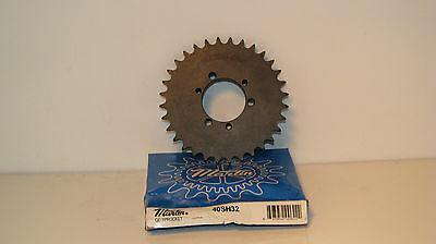 "40SH32  MARTIN 32 TOOTH SPROCKET FOR #40 CHAIN For Sh Bushing, 0.5"" Pitch,"