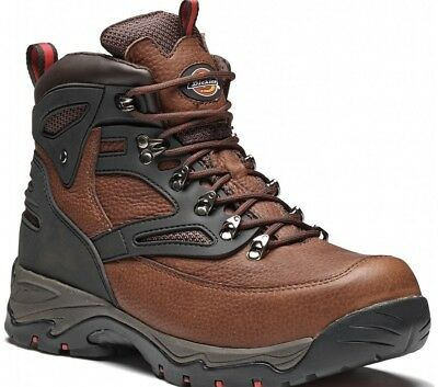 Dickies Preston Safety Steel Toe Cap Work Boots Brown FD9217 Free P&P