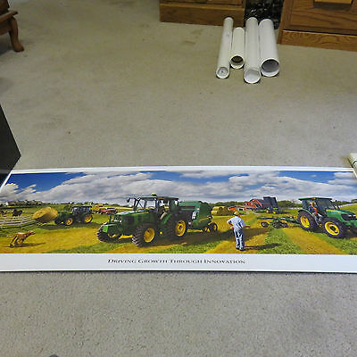 "2008 Limited Edition John Deere ""Driving Growth Through Innovation"" Print #4140"