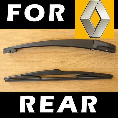 Rear Wiper Arm and Blade for RENAULT Laguna mk2 II Grandtour 2001-2007 35cm
