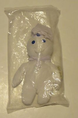 "Pillsbury Dough Boy~8""~Beanbag Plush Doll~1997~New In Bag With Tag~"