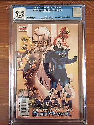 Adam Legend of the Blue Marvel #1 CGC 9.2 Marvel Comics
