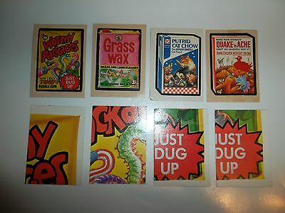 Topps Wacky Packages Vintage 1973 & 1974 2nd & 4th Series Stickers Puzzle Cards