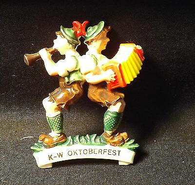 KW Oktoberfest Musicians Pin. Kitchener Ontario 2nd Largest 'Fest in the World