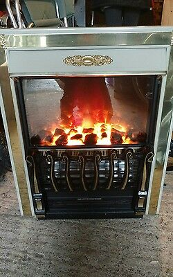 Electric fire living flame insert