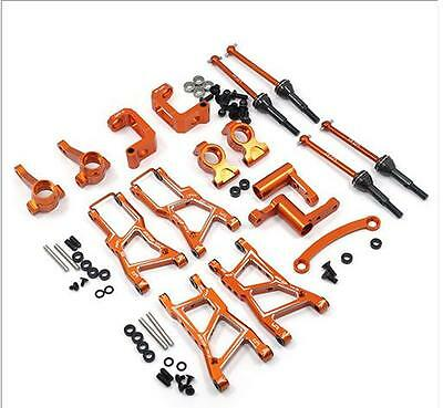PRE-ORDER, Yeah Racing HPI RS4 Sport 3 Orange FULL Aluminum UPGRADE RSS3-S01OR