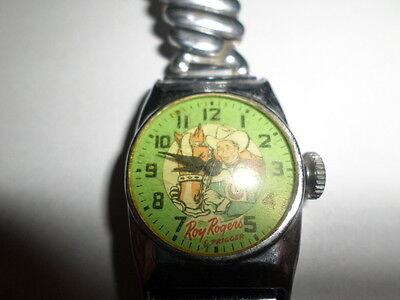 1950's vintage roy rogers  watch wristwatch