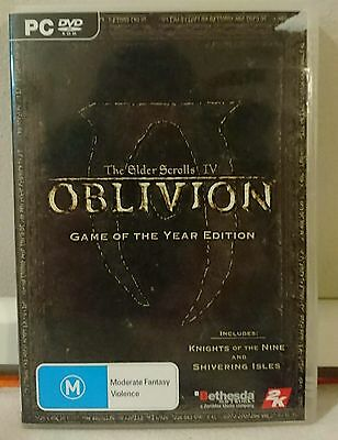 The Elder Scrolls IV: Oblivion - Game of the Year Edition (PC, 2007)