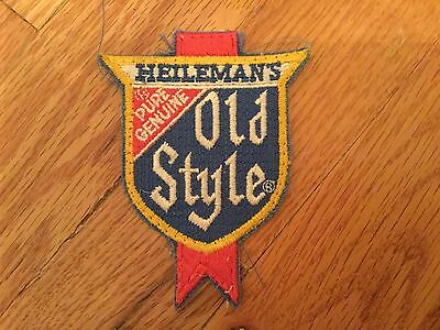 "Heileman's Pure Genuine Old Style Beer Patch 4"" x 3"""