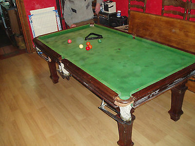 snooker table riley  6ft x 3ft slate bed for refurbishment