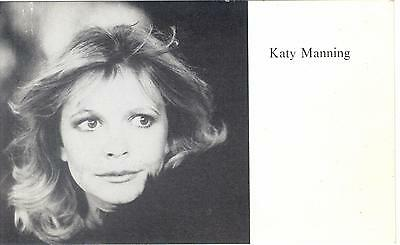 Doctor Who Katy Manning (Jo Grant) publicity photo card