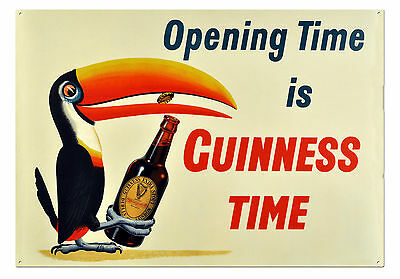 guinness tin sign, irish advertising memoraibilia poster/signs