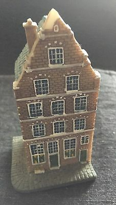 Canal House Amsterdam Miniature Collectible  #1 Corner House