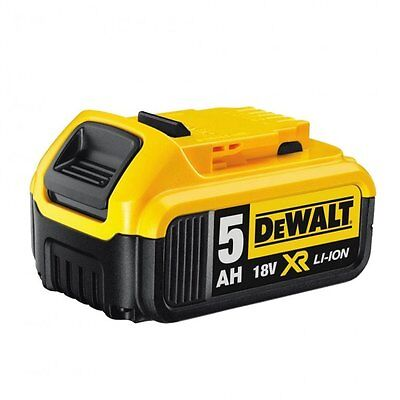 DEWALT DCB184 XR Li-Ion Battery 18 Volt 5.0Ah Lithium GENUINE AUTHENTIC DEWALT