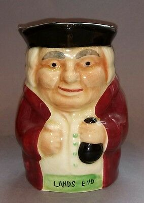 Shorter & Son - Rare Staffordshire Pottery Toby Jug - Lands End