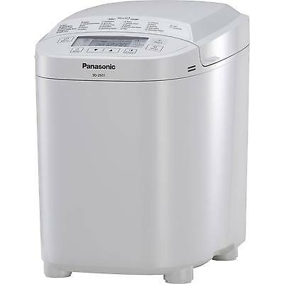 Panasonic 550W 21 Programmes Breadmaker With Timer Delay In White - Sd-2500Wxc