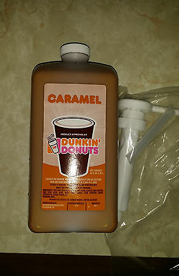 Dunkin Donuts Caramel Swirl (syrup) 64 oz With Pump
