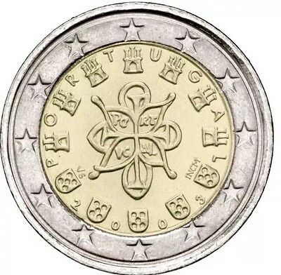 Portugal 2 Euro Coin 2003 Castles And Crosses New BUNC from Roll