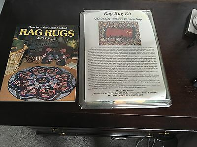 Fred Aldous Rag Rug Kit And Book