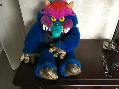 Vintage My Pet Monster Very Large Soft Toy