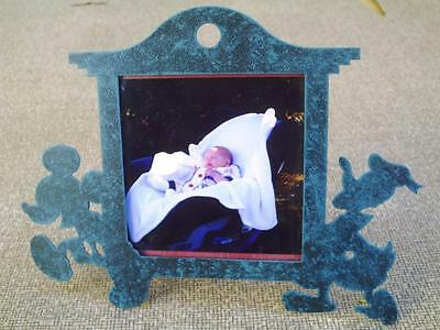 Mickey Mouse Donald Duck Picture Frame Charpente Disney Frame Antiqued Bronze