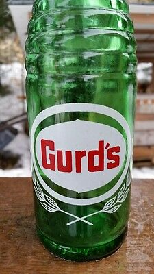 Gurd's 10 oz ACL Soda Pop Bottle Montreal Quebec Canada