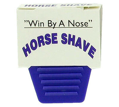 Win by a nose!  The Horse Shave®
