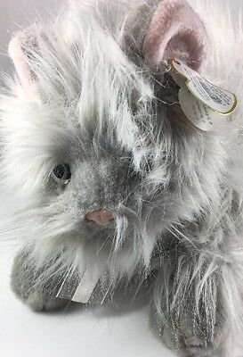 TY Classic Plush - BANGLES the Grey Cat (12 inch) *Creased Tag