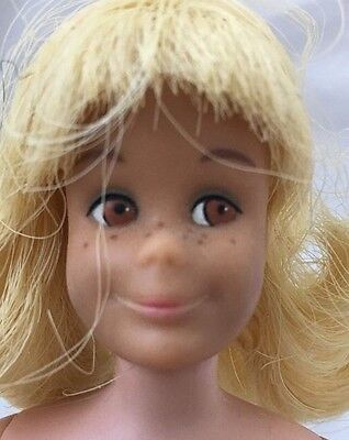 Vintage Straight Leg PALE LIGHT BLONDE Hair SKOOTER Doll