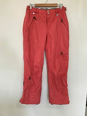 Super Comfy Womens Rojo Insulated Ski Snowboard Pants Size 12 Ladies