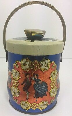 Vintage Murray - Allen Imported Quality Confections Tin Bavarian Made in England