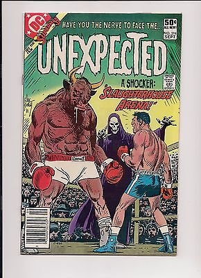 The Unexpected #214 NM- 9.2 High Grade, DC Bronze Age Horror, boxing cover