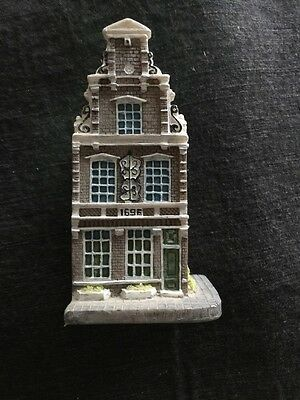 Collectible Canal House Amsterdam #10 Right Corner Building
