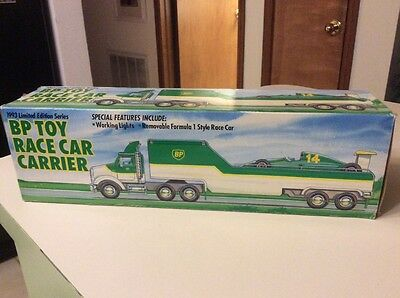 1993 BP Toy Race Car Carrier Limited Edition Series MIB