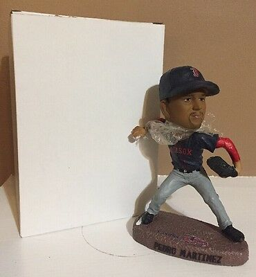 Rare PEDRO MARTINEZ Lowell Spinners Bobblehead 2014 Thread Sox Nation Blue