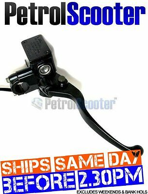 Switched Front HYDRAULIC BRAKE MASTER CYLINDER   LEVER Fits Quad Bikes Scooters