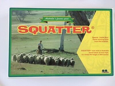 Squatter Board Game BRAND NEW - FREE POSTAGE