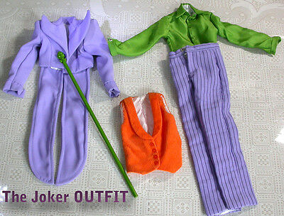 """Tonner & DC Comics """"THE JOKER"""" - OUTFIT ONLY -  LE 3000 fits 16-17"""" dolls."""