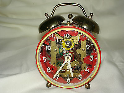 Vintage Sheffield Alarm Clock - West German Circa 1950S