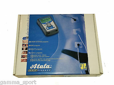 Electrical stimulator Atala A2 new 160 programs Display LCD Graphic Reflective