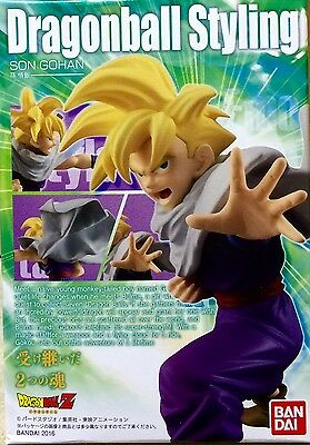 Dragon Ball Z Styling De Bandai Gohan Figure Figura New Nueva