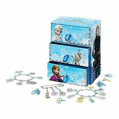 Frozen Deluxe Jewellery Box With 500 Self-adhesive Gems, Cool Create Fun Til New