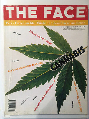 THE FACE Magazine Vol 2 No 61 CANNABIS Issue October 1993