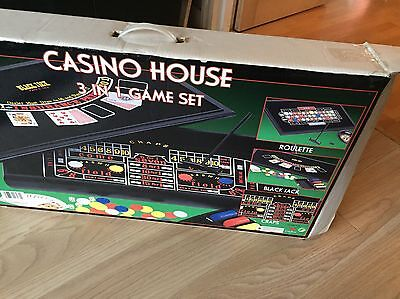 Casino House 3 In 1 Game Set