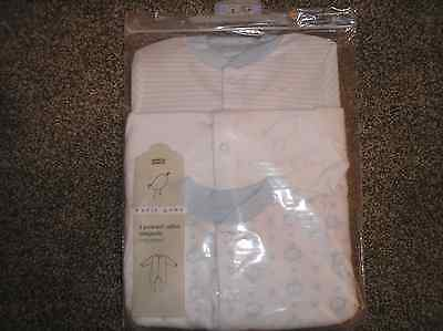 M & S BABY BOYS SLEEPSUITS 0-3M Pack of 3 NEW