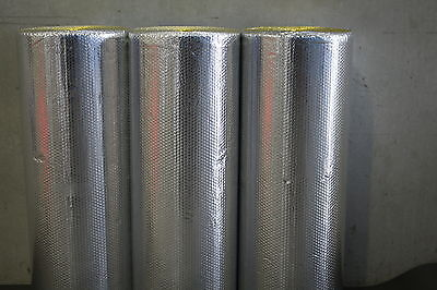 Foil Air Bubble Cell Radiant Reflective Insulation 48m2 only $151